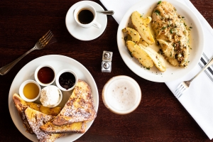 French Toast and Sole Meunière